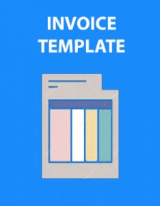 invoice template icon