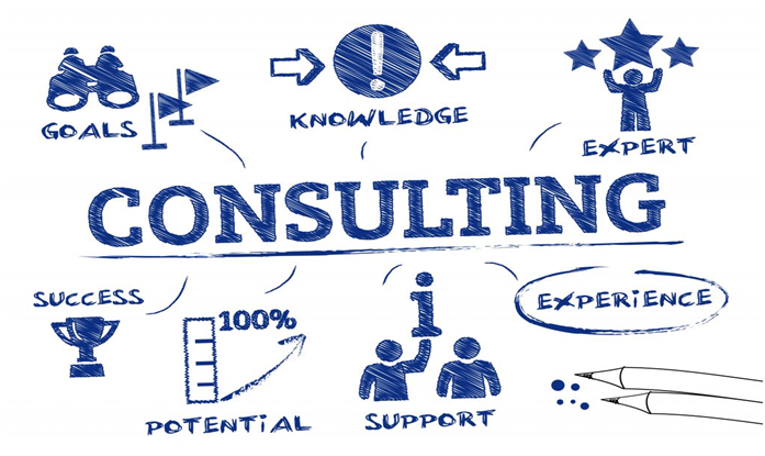 a sketch of the consulting process